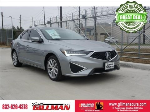 Certified Pre-Owned 2019 Acura ILX 4D Sedan