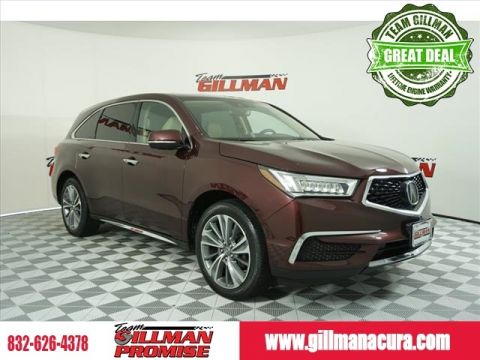Pre-Owned 2017 Acura MDX 4D Sport Utility