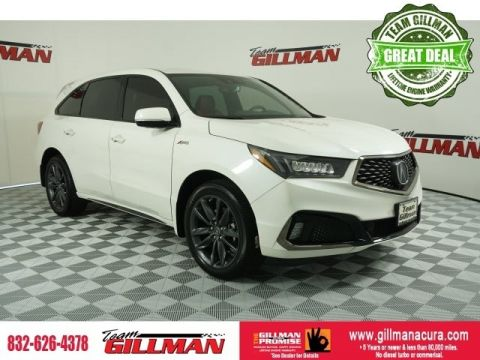 Certified Pre-Owned 2019 Acura MDX SH-AWD with A-Spec Package